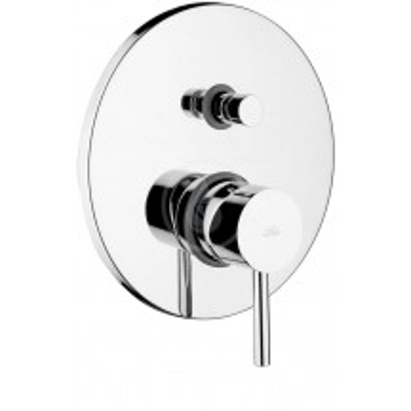 PAFFONI - Stick Sprchová podomítková baterie s přepínačem, chrom (SK015CR)