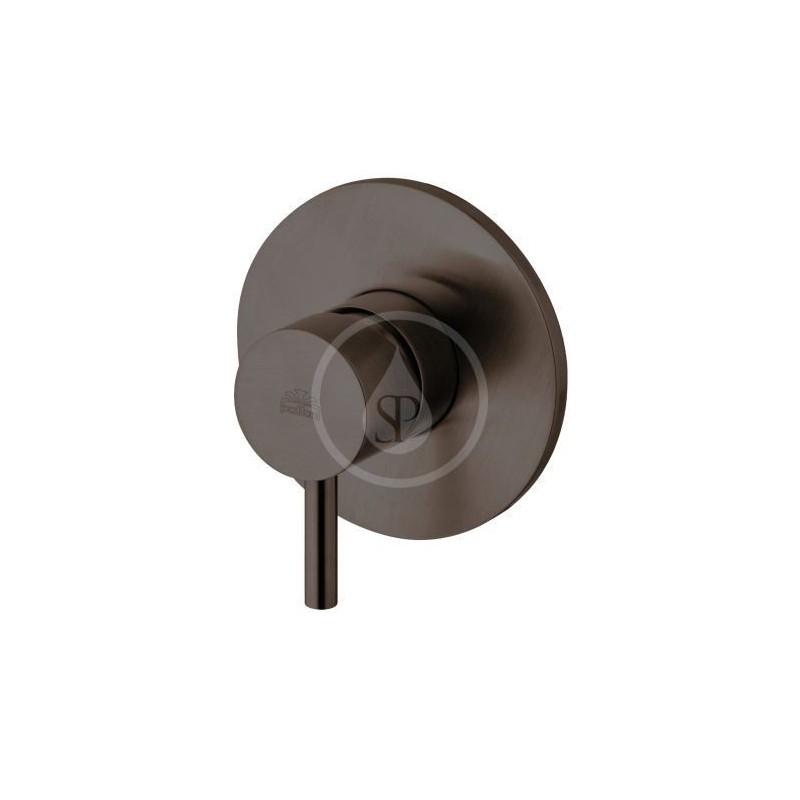 PAFFONI - Light Sprchová baterie pod omítku, 1 vývod, černý mat (LIG011NO)