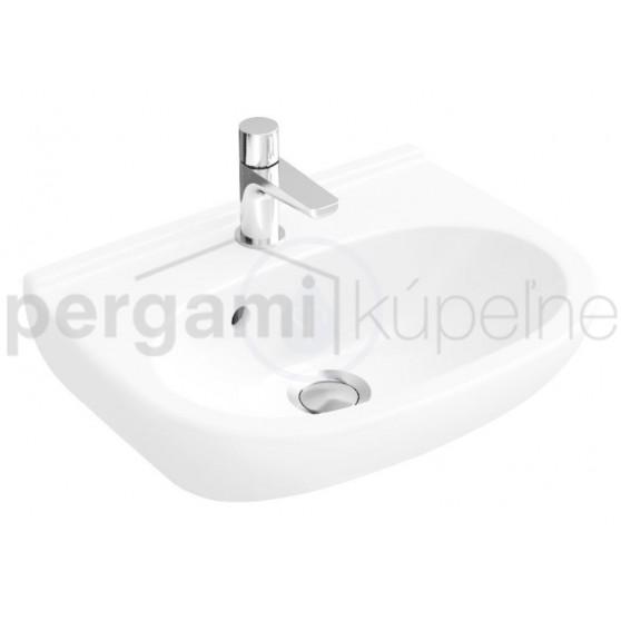 VILLEROY & BOCH - O.novo Umývátko Kompakt, 450 mm x 350 mm, bílé (536045R1)