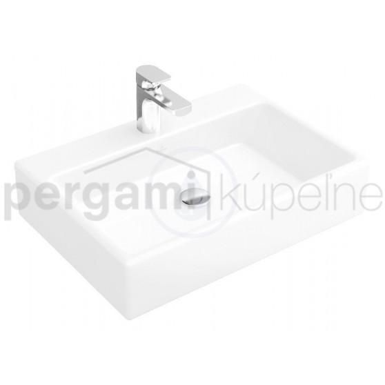 VILLEROY & BOCH - Memento Umyvadlo na desku, 600 mm x 420 mm, bílé (51356001)