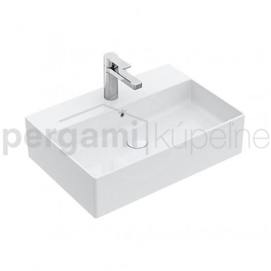 VILLEROY & BOCH - Memento 2.0 Umyvadlo na desku s přepadem, 500 x 420 mm (4A0750S0)