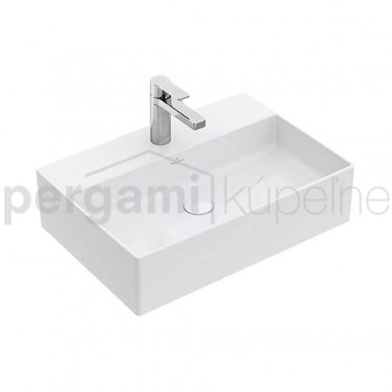 VILLEROY & BOCH - Memento 2.0 Umyvadlo na desku bez přepadu, 500 x 420 mm (4A0751TDS7)