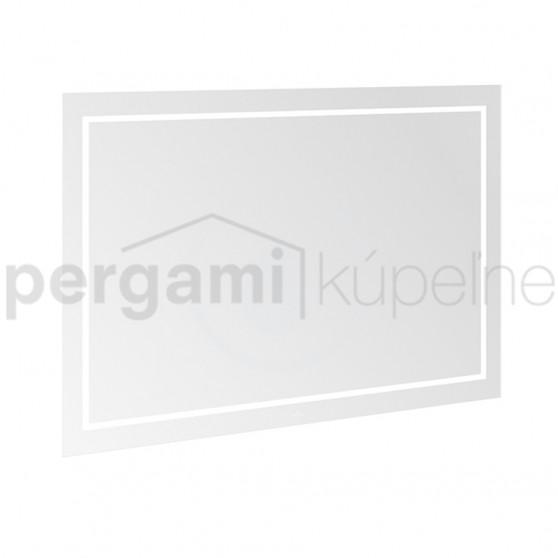 VILLEROY & BOCH - Finion Koupelnové LED zrcadlo s Bluetooth, 1200 x 750 x 45 mm (G6101200)