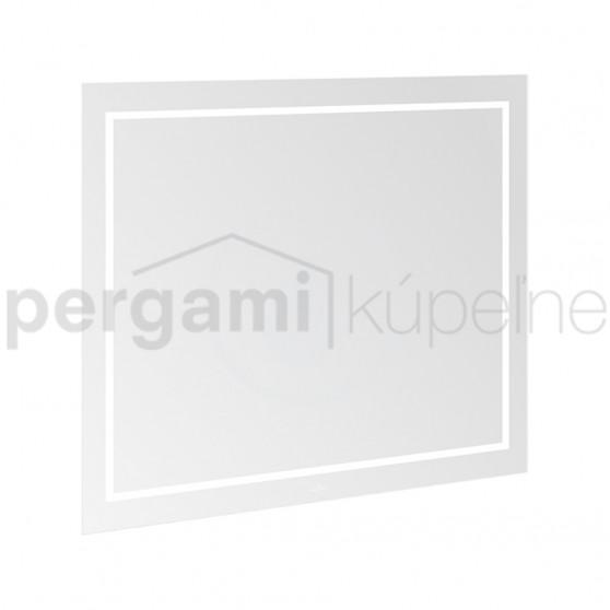 VILLEROY & BOCH - Finion Koupelnové LED zrcadlo s Bluetooth, 1000 x 750 x 45 mm (G6101000)
