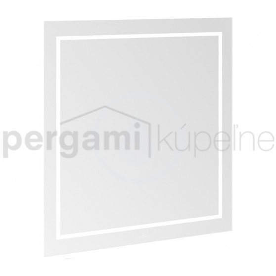 VILLEROY & BOCH - Finion Koupelnové LED zrcadlo 800 x 750 x 45 mm (G6008000)